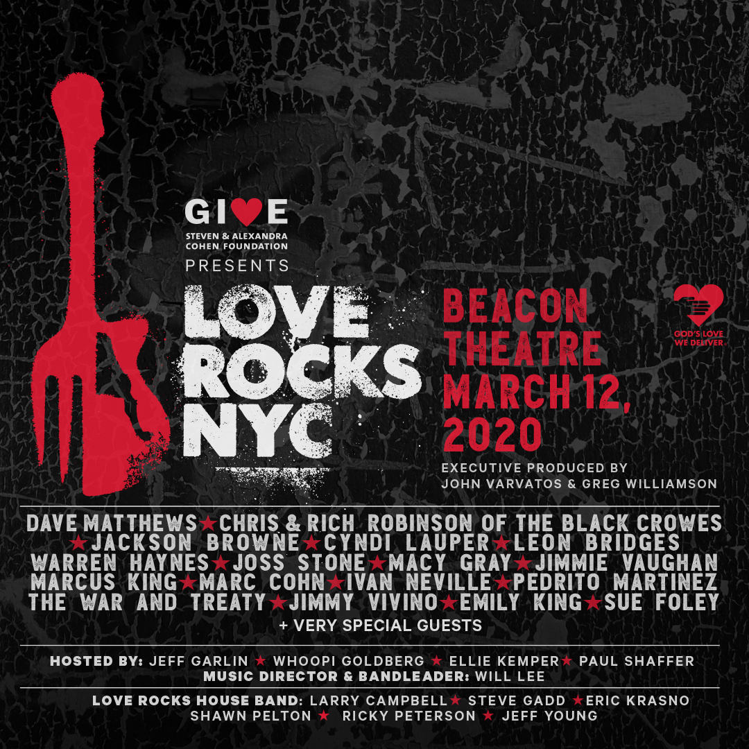 Love Rocks NYC 2020 Lineup Announcement