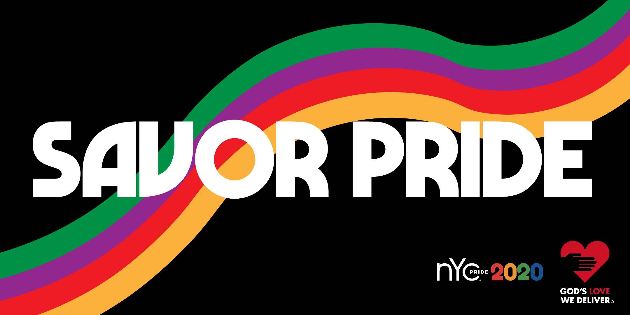 Savor Pride banner