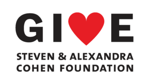 The Steven & Alexandra Cohen Foundation GIVE logo horizontal
